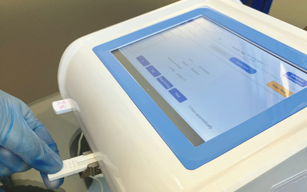 Rapid antigen testing boosts safety at film pre-launch event